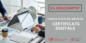 Descompte Certificats Digitals